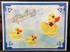 Iris Folding Duck Family - 2 die cuts