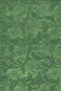 NEW!!! Floral Foil: Apple Green